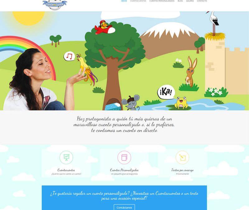 Nueva web de cuentos infantiles y cuentacuentos