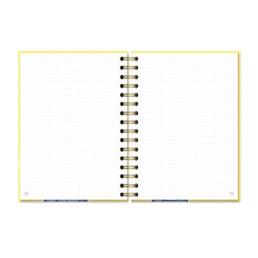 cuaderno pauta puntos
