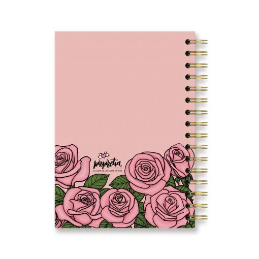 cuadernos rosas bonitos