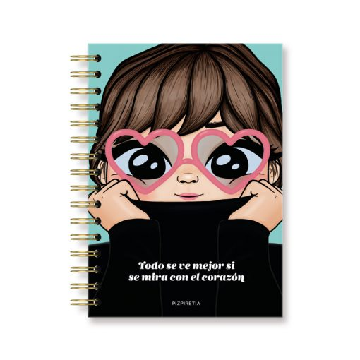 cuadernos con dibujos bonitos