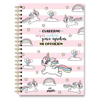 cuaderno oposición