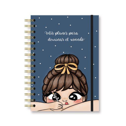 cuaderno dominar mundo