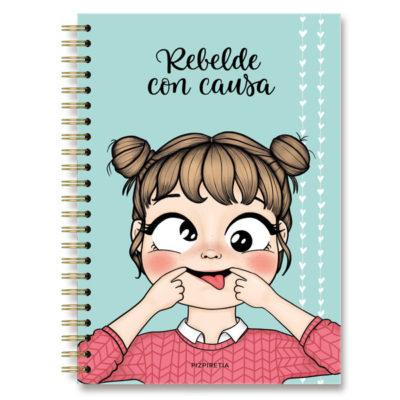 cuaderno tamaño folio bonito