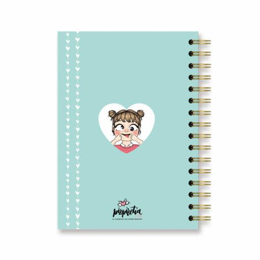cuadernos punteados