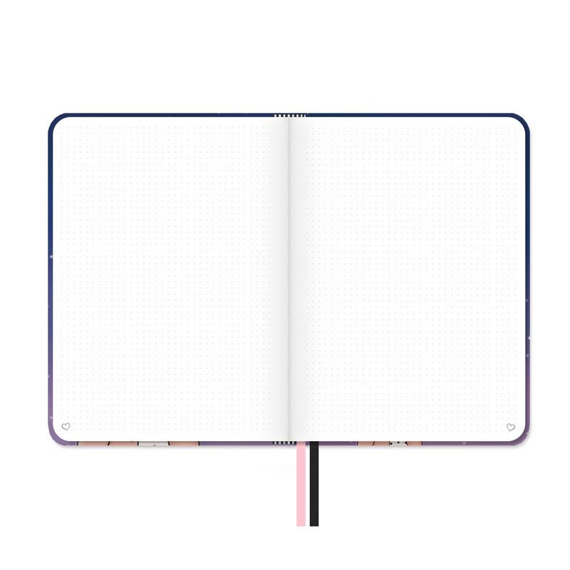 libreta bullet journal punteada